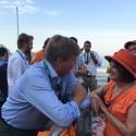 Koninklijke ontmoeting en een Tv voor straatkinderen in Rio